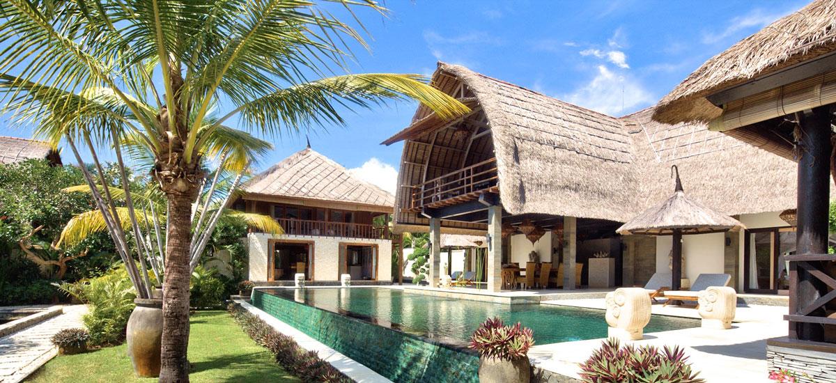 Villa Samora op Bali met zwembad en gastenverblijf